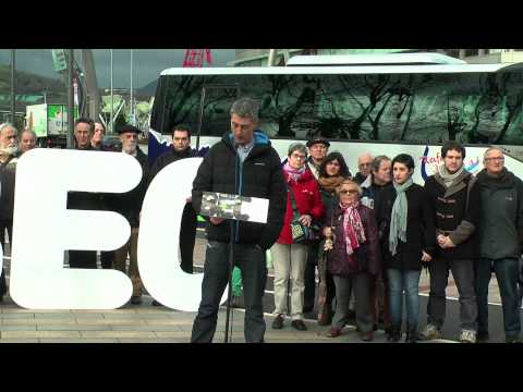 EH Bildu llama a llenar el BEC con 10.000 personas