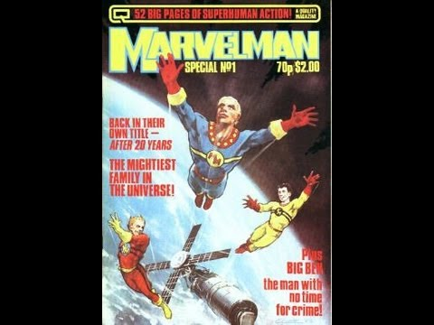 Marvelman - if you would like to contact us about this weeks show or ask qustions to be read on the air you can email CJ at mactavish.tvpopculture@gmail.com Facebook pag...