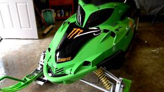 7. 2004 Arctic Cat firecat F7 EFI v force 3, Monster