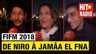 ROBERT DE NIRO À JAMÂA EL FNA   FIFM 2018 AVEC MAROC TELECOM