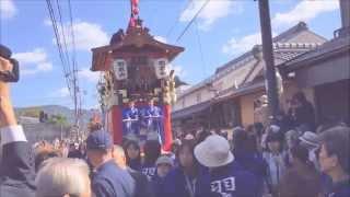 Nantan Japan  City new picture : Kameoka Matsuri Festival Gion Matsuri Festival in Nantan-Kyoto Japan