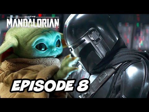 Star Wars The Mandalorian Season 2 Episode 8 Finale - TOP 10 WTF and Easter Eggs