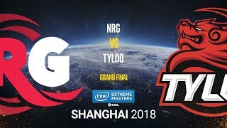 NRG vs TyLoo - IEM Shanghai 2018 - Grand final - map1 - de_overpass [Smile, Anishared]