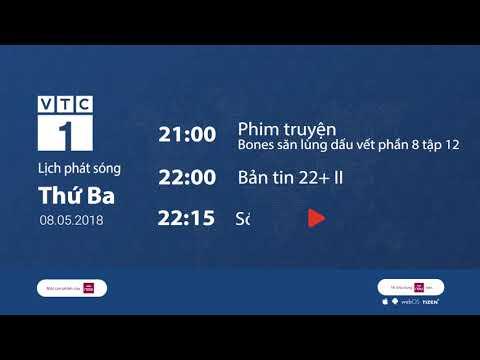 Lịch phát sóng VTC1 ngày 8/5/2018 | VTC1 - Thời lượng: 101 giây.