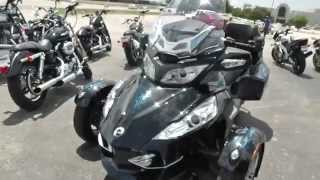 10. 000185 - 2010 Can Am Spyder RT S SE5 - Used Motorcycle For Sale