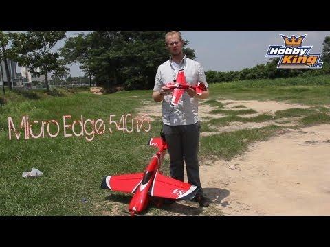 Durafly Micro Edge 540 V3 3D Review & Flight