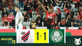 ATHLETICO-PR 1 X 1 PALMEIRAS - Melhores Momentos - Brasileirão 2019 (20/10)