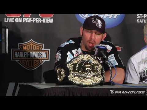 UFC 111 Post Fight Shane Carwin Believes Brock Lesnar Fight Was His Destiny