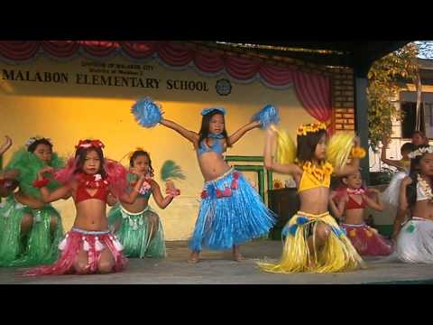 HAWAIIAN DANCE GRADE 2 SECTION1 MALABON