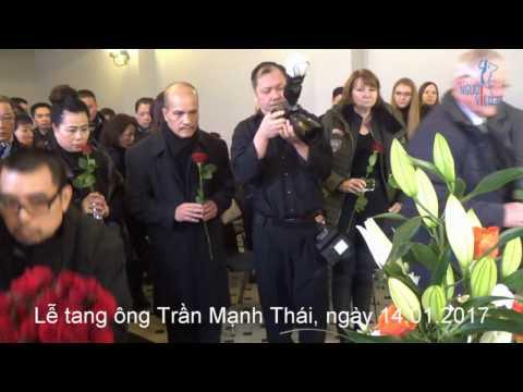 NguoiViet.de - Tang lễ ông Trần Mạnh Thái - Xếp hàng tiễn biệt ông