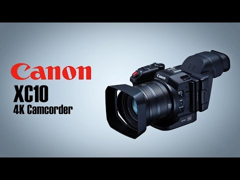 Hands-On Review: Canon | XC10 4K Professional Camcorder