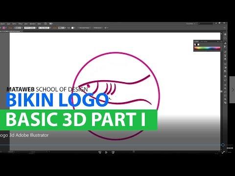 Tutorial Illustrator - Basic Logo 3d
