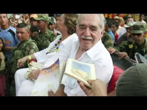 Nobel prize-winning author Gabriel Garcia Marquez – master of magical realism.