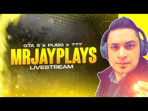GTA 5 ROLE PLAY & PUBG MOBILE PAKISTAN LIVESTREAM - MRJAYPLAYS 🎮