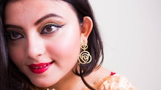 Indian Wedding Party Makeup Look