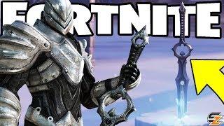 Fortnite Battle Royale - Infinity Blade Sword Gameplay teased! (Fortnite BR x Infinity Blade Swords)