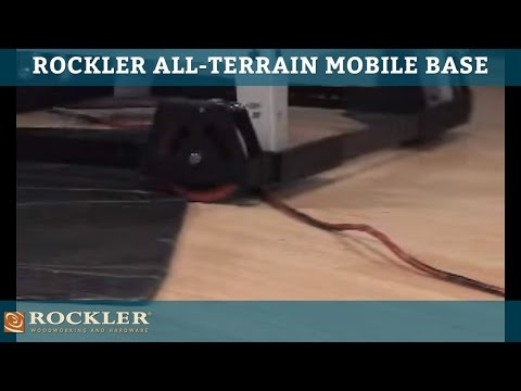 Rockler All-Terrain Mobile Base