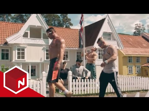 Norwegian Body Builders Visit Tiny Town