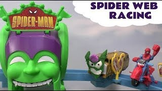 Spider Web Racing