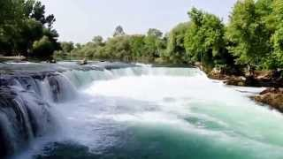 Manavgat Turkey  City new picture : Manavgat Selalesi (Waterfall) Antalya, Turkiye (Turkey) (high view) HD HQ