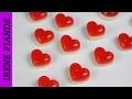Желейные конфеты.Желейный сердечки ко дню Святого Валентина