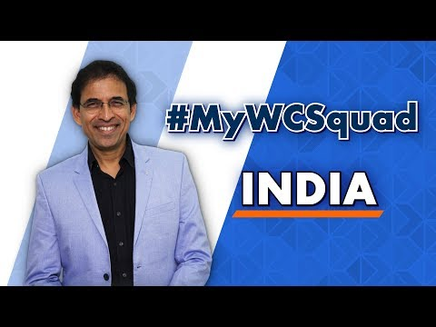 Harsha Bhogle's #MyWCSquad - India
