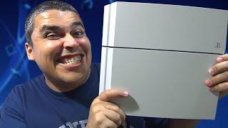 Playstation 4 - Unboxing e Primeiras Impressões