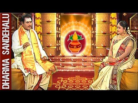 Sri Palaparthi Syamalananda Prasad || Dharma Sandehalu || 20th April 2016 || Bhakthi TV