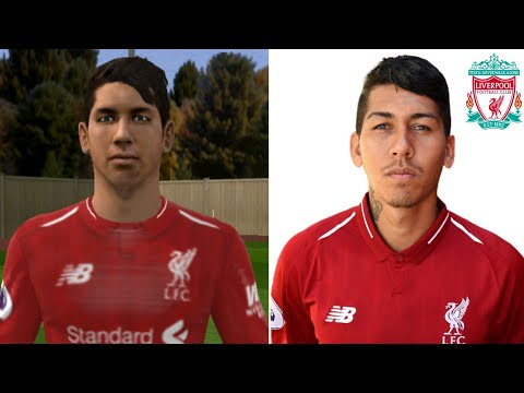 Face Comprasion Liverpool FC Players Vs Real Life 🌠 Dream League Soccer 2019 🌠 4K