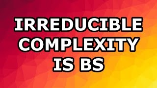Why Irreducible Complexity Is Crapola: Douglas Axe part 3