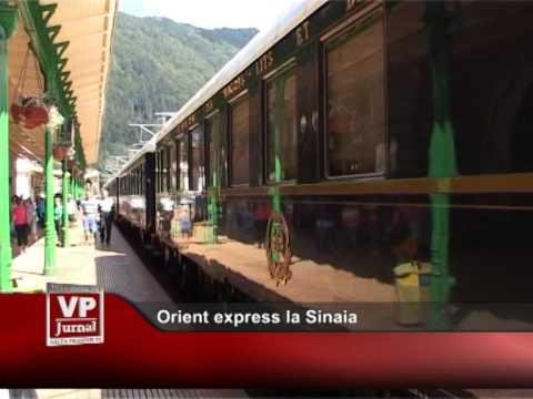 Orient express la Sinaia