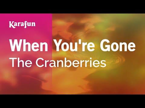 Karaoke When You're Gone - The Cranberries *