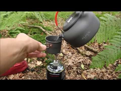 Alocs Camping Kettle and Cup