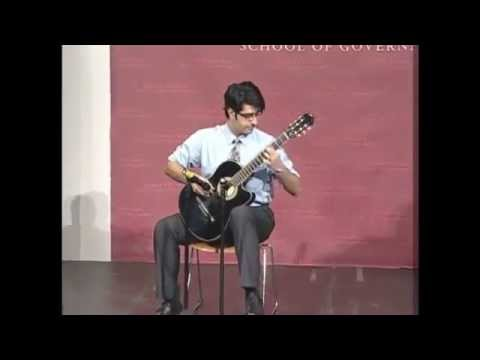 This Guitar Player Starts Off With A Speech Ends With A Standing Ovation VIDEO)
