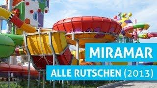 Weinheim Germany  City pictures : Alle Rutschen im Miramar Weinheim! (2013 Version)