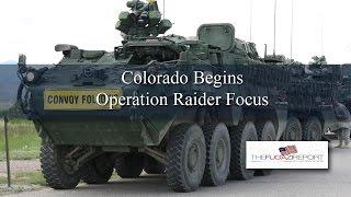 Trinidad (CO) United States  City new picture : EXCLUSIVE VIDEO: Colorado Troops Begin Raider Focus Moving Towards Trinidad