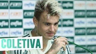 Coletiva do atacante Roger Guedes.---------------------Assine o Premiere e assista a todos os jogos do Palmeiras AO VIVO, em qualquer lugar, na TV ou no Premiere Play: http://bit.ly/1myhErs E se você já assina, participe da pesquisa e diga que seu time é o Palmeiras: http://bit.ly/2ad5HJo------------------------Seja Sócio Avanti, com desconto em ingressos e privilégios exclusivos! Clique aqui: http://bit.ly/1uKJsbA