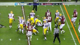 Trent Richardson vs LSU 2011