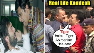 Video Sanjay Dutt Breaks Down Meeting Real Life Kamlesh Outside JAIL As Shown In Sanju Movie MP3, 3GP, MP4, WEBM, AVI, FLV Agustus 2018
