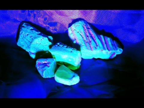 Ультрафиолетовый фонарь видео