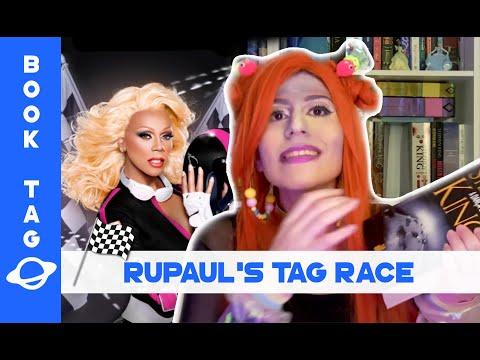 RUPAUL'S TAG RACE � 🌈 | Book Tag | BOOK GALAXY