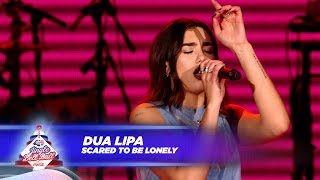 Video Dua Lipa - 'Scared To Be Lonely' - (Live At Capital's Jingle Bell Ball 2017) MP3, 3GP, MP4, WEBM, AVI, FLV Maret 2019