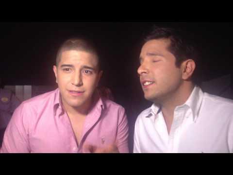 La Voz España: Cali & Dandee cantan en entrevista