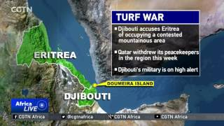 Djibouti's foreign minister has accused neighboring Eritrea of occupying Dumeira Mountain and Dumeira Island- a disputed ...