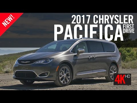 2016 Chrysler Pacifica First Drive Review 4K