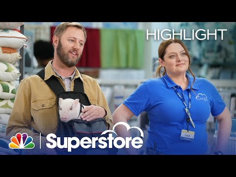 Dina and Brian Break Up the Customer Safari Game - Superstore