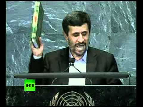 '9/11 was an inside job': Full speech by Mahmoud Ahmadinejad at UN