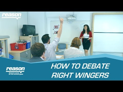 How to debate right wingers