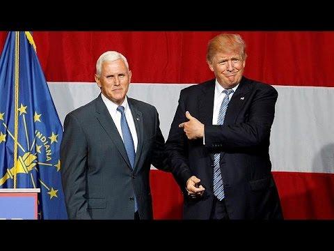 ΗΠΑ: Ο κυβερνήτης της Ιντιάνα Μάικ Πενς υποψήφιος αντιπρόεδρος του Τραμπ