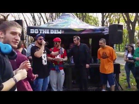 Hip Hop Offline - AFO, MACANACHE & co. - Skatepark Herăstrău - 09.04.2016